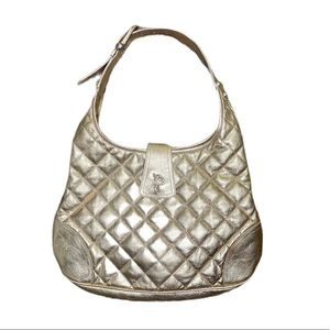 Burberry Gold Brooke Hobo bag w/ Receipt